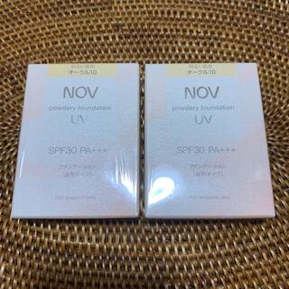 ノブ(NOV)のノブ オークル10(ファンデーション)