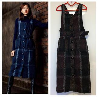 BURBERRY BLUE LABEL - ブルーレーベルクレストブリッジ ジャンパースカート 36