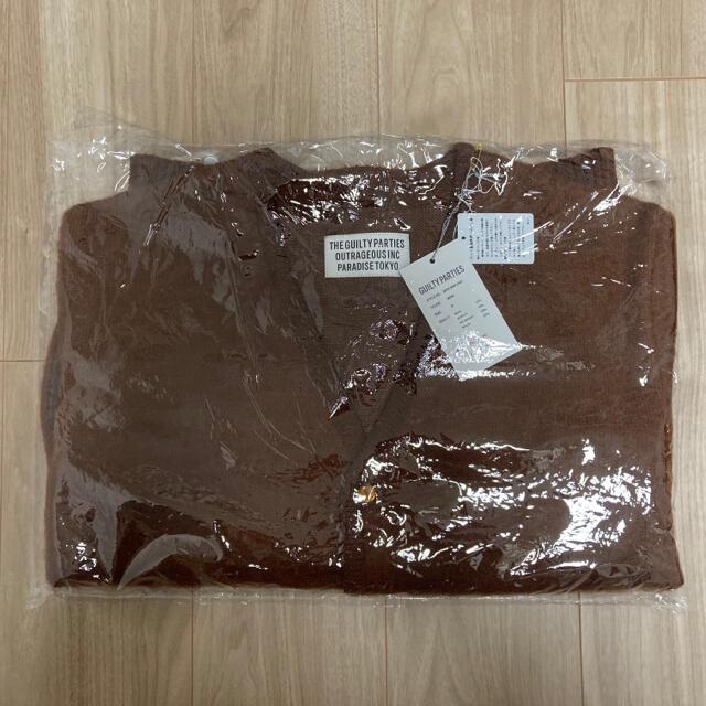 WACKO MARIA(ワコマリア)のMサイズ 20FW wackomaria モヘアカーディガン ブラウン メンズのトップス(カーディガン)の商品写真