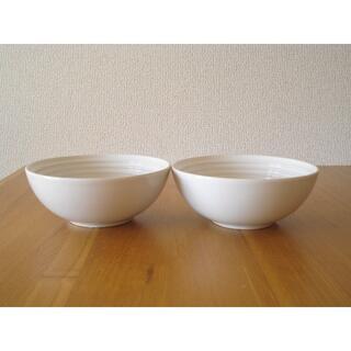 ルクルーゼ(LE CREUSET)のルクルーゼ シリアルボール 6in 2個セット ホワイト■新品 ボウル 白(食器)