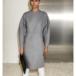 celine - 美品レア Celine セリーヌ カシミア ドレス ワンピース グレー 38