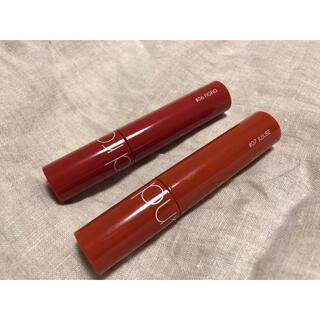 3ce - rom&nd ジューシーラスティングティント 2色セット