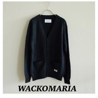 ワコマリア(WACKO MARIA)の希少 ワコマリア モヘアカーディガン ブラック(カーディガン)