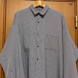 HARE - HARE チェックスナップシャツ