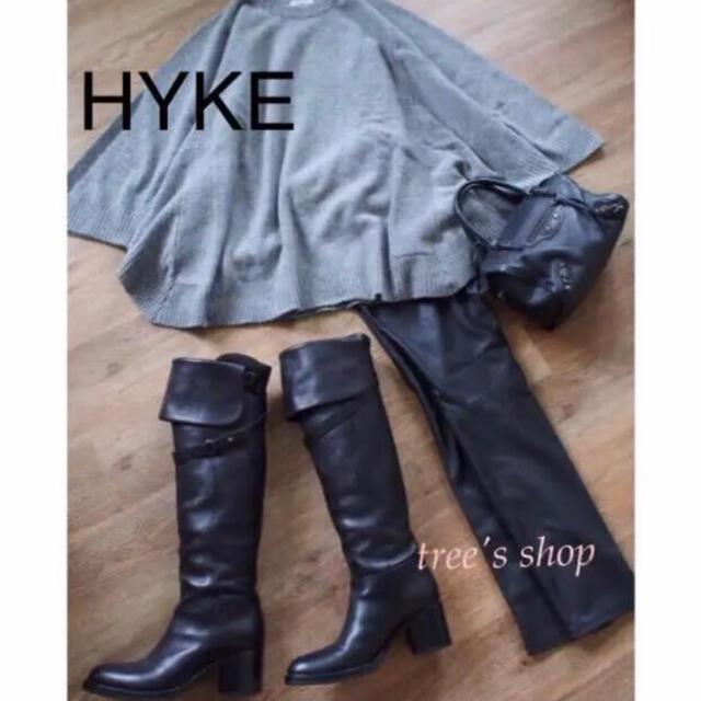 HYKE(ハイク)のHYKE♡ニットポンチョ レディースのトップス(ニット/セーター)の商品写真