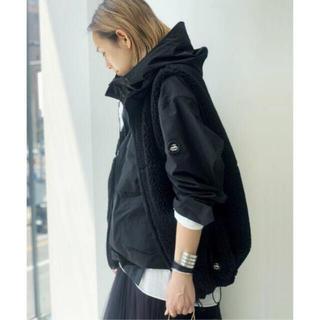 L'Appartement DEUXIEME CLASSE - AP STUDIO 別注 yeti ウールボアベスト 新品 black