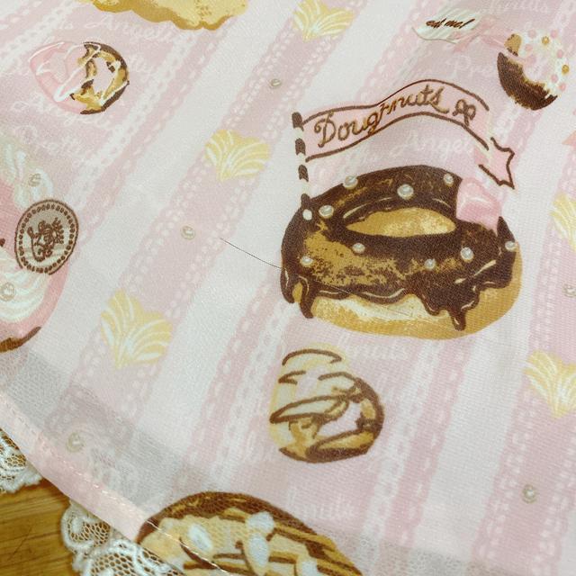 Angelic Pretty(アンジェリックプリティー)のMelty Cream ドーナツ ラウンドJSK レディースのワンピース(ミニワンピース)の商品写真