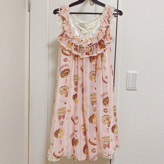 Angelic Pretty - Melty Cream ドーナツ ラウンドJSK