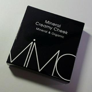 エムアイエムシー(MiMC)のMiMC ミネラルクリーミー チーク 新品未使用(チーク)