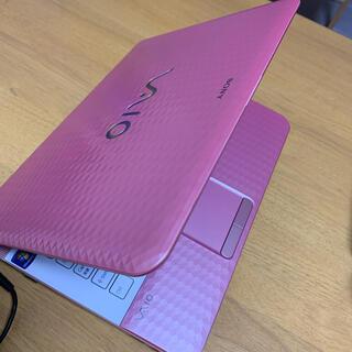 SONY - ノートパソコン ソニー ピンク
