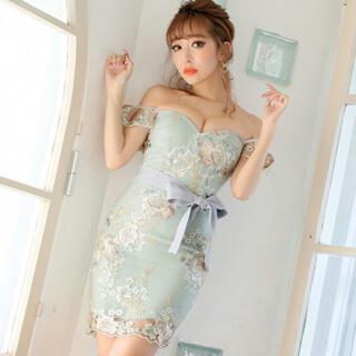 JEWELS - Jewels オフショルタイトドレス