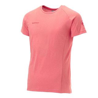 マムート(Mammut)のMAMMUT マムート 半袖Tシャツ アジリティTシャツ ピンク レディースM(Tシャツ(半袖/袖なし))