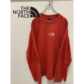 ザノースフェイス(THE NORTH FACE)のザノースフェイス セーター オレンジ S(ニット/セーター)