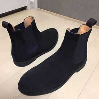 BEAMS - 展示品■BEAMS■サイドゴアブーツ 黒 実サイズ感25.5~26