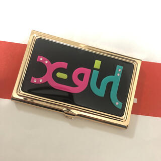 X-girl - エックスガール カードケース