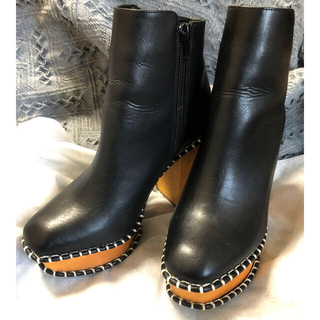 moussy - moussy WOODEN HEEL BOOTS Ⅱ