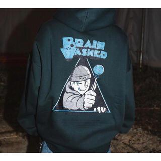 カーハート(carhartt)の9090s 限定 Brain washed hoodie Lサイズ(パーカー)