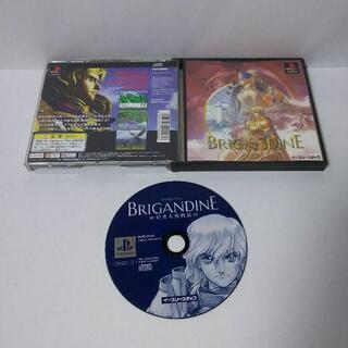 プレイステーション(PlayStation)の≪PSソフト≫ブリガンダイン幻想大陸戦記(家庭用ゲームソフト)