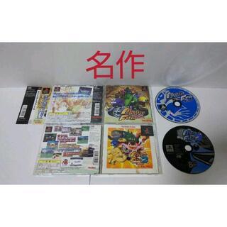 プレイステーション(PlayStation)の≪帯付・名作PS≫モンスターファーム1・2セット(家庭用ゲームソフト)