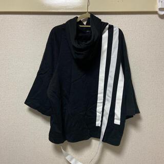 Y-3 - Y-3 黒パーカー  Lサイズ メンズ 七分袖