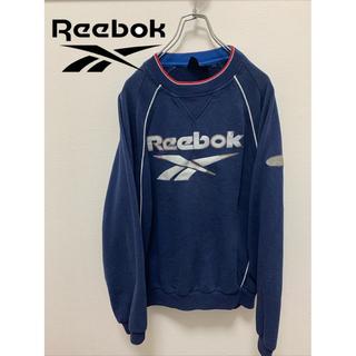 リーボック(Reebok)の【Reebok】スウェット オーバーサイズ 古着(スウェット)