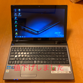 エイサー(Acer)のacer エイサー ノートパソコン Aspire 5750  中古美品(ノートPC)