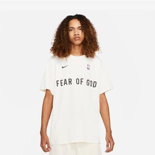 FEAR OF GOD - Nike × fear of god ペールアイボリー ウォームアップ Tシャツ