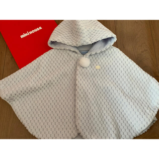 mikihouse - 【ミキハウス】ビーンズコール素材の豪華マント 新品未使用