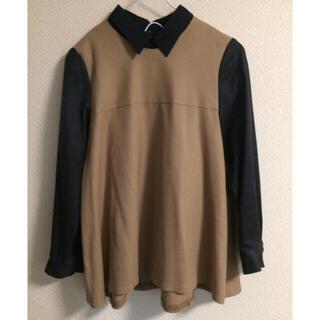 マカフィー(MACPHEE)のMACPHEE ウールシャツ(シャツ/ブラウス(長袖/七分))