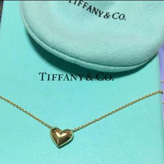 ティファニー(Tiffany & Co.)のティファニー  ピンチドハートネックレス(ネックレス)