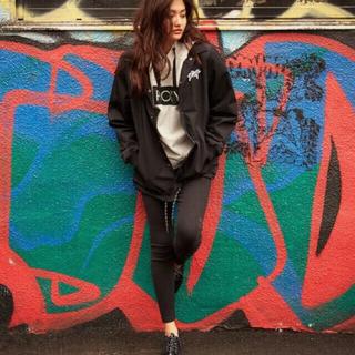 ロキシー(Roxy)のロキシー(ROXY)のボア付きコーチジャケット ブラック 黒(ブルゾン)