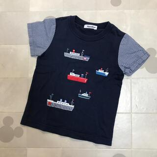 familiar - ♡familiar110cm❤︎お船刺繍Tシャツ♡