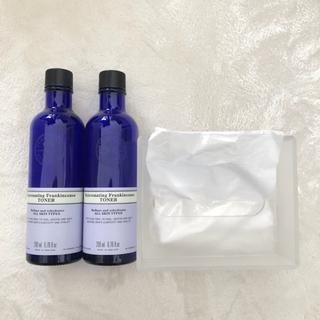 ムジルシリョウヒン(MUJI (無印良品))のNEAL'S YARD REMEDIES 空き瓶 & 無印良品 ティッシュケース(ティッシュボックス)