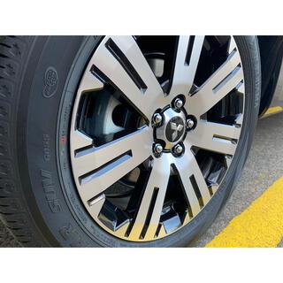 三菱 - 新型デリカD5 新車外し純正タイヤ・アルミホイール 4本セット【純正ナット付き】
