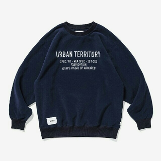 W)taps - WTAPS 20AW CRUCIBLE CREW NECK NAVY S