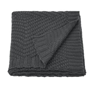 IKEA - イケア ひざ掛け ベットカバー コットン 毛布 170 ×130 センチ