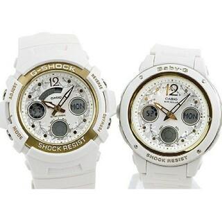 カシオ(CASIO)の[値引交渉可]CASIOジーショックとbabyGのセット(2つセットです)(腕時計)