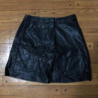 エモダ(EMODA)のEMODA レザーショートパンツ ミニスカート(ミニスカート)