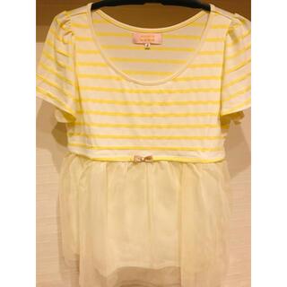 ミニマム(MINIMUM)のMINIMUM  チュールトップス(Tシャツ(半袖/袖なし))