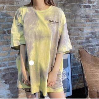 ジェイダ(GYDA)のミラーナイン mirror9  イエロー完売Lサイズ(Tシャツ(半袖/袖なし))