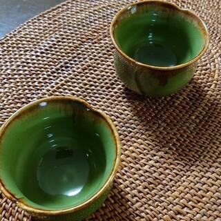 ジェンガラ(Jenggala)のジェンガラ ティーカップ ペア 未使用(グラス/カップ)