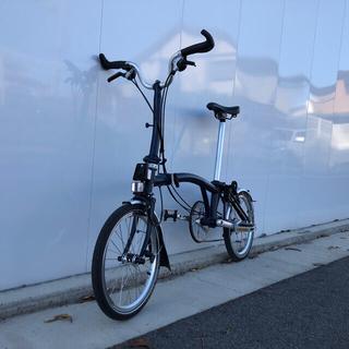 ブロンプトン(BROMPTON)のブロンプトン 2020年モデル テンペストブルー M6L仕様 中古 送料無料(自転車本体)