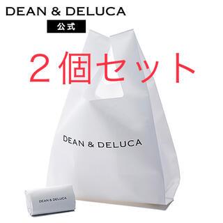 DEAN & DELUCA - DEAN & DELUCA ミニマム エコバッグ ホワイト ★2個セット★