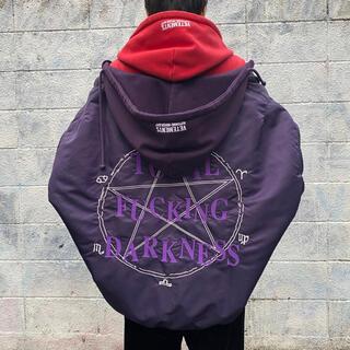 バレンシアガ(Balenciaga)のvetements tfd ボンバー xs  紫(ダウンジャケット)