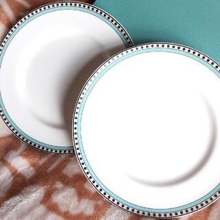 ティファニー(Tiffany & Co.)のティファニー お皿 プレート 2枚セット 新品  ティファニーカラープレート(食器)