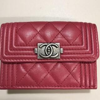 CHANEL - ✨美品✨CHANEL  折り財布 ピンク