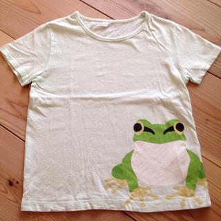 ムジルシリョウヒン(MUJI (無印良品))の130cmカエルさんTシャツ(Tシャツ/カットソー)