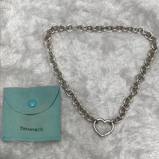 ティファニー(Tiffany & Co.)のTiffany ラウンドハートクラスブ チョーカー(ネックレス)