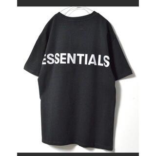 FEAR OF GOD - Lサイズ essentials  リフレクターロゴT Tシャツ