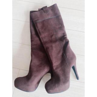 エスペランサ(ESPERANZA)のエスペランサ  ロングブーツ ミドルブーツ 美品(ブーツ)